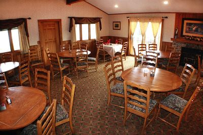 Dining room at The Ranch at UCross